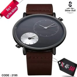 Tomi Leather Unisex Watch for Men & Women – 4 get free delivery