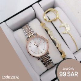 CALVNBOLO Watch With Jewel set's for Women