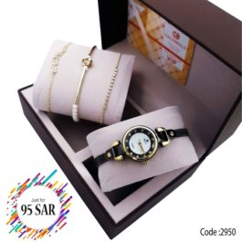 CALVNBOLO Women's Fashion Wrist Watch Set