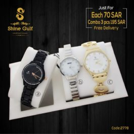Combo of 3Analog Dial women's watches for Branded watches