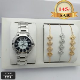 Classic CALVNBOLO Watch With Bracelet For Women's