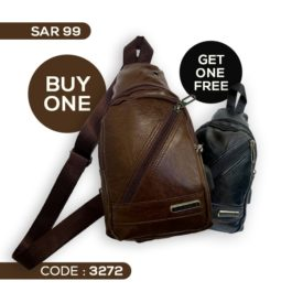 Casual Sling Bag with USB...