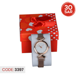 Branded Stylish Analog Stainless Steel Wrist Watch for Female's
