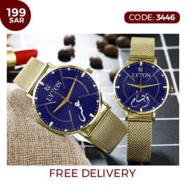 Luxurious LYTON Elegant Couples Watch Combo Collection