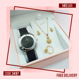 Elegant CALVNBOLO Watch with Classic Jewel Set for Womens