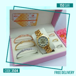Classy CALVNBOLO watch Luxurious Jewel Set