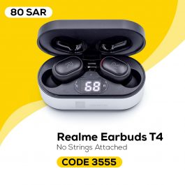 Branded RealMe T4 True Wireless Earbuds