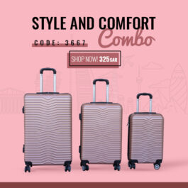 Trend New Luxurious Polycarbonate Luggage Collection