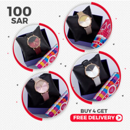 Dashing Stylish Watches for Young Girls and Ladies