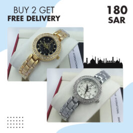Classic Elegant PERLA Stainless Steel Watch Collection