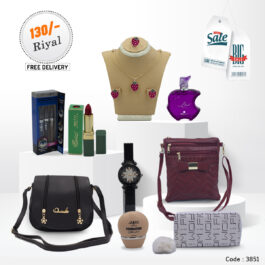 9 Pcs Ladies Accessories Combo Collection