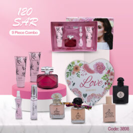 Branded Bamboo Beauty Care kit with Love of Fragrances and Perfumes